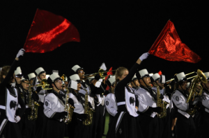 Checking in with the Panther Marching Band